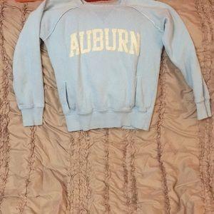 Auburn sweatshirt with pockets